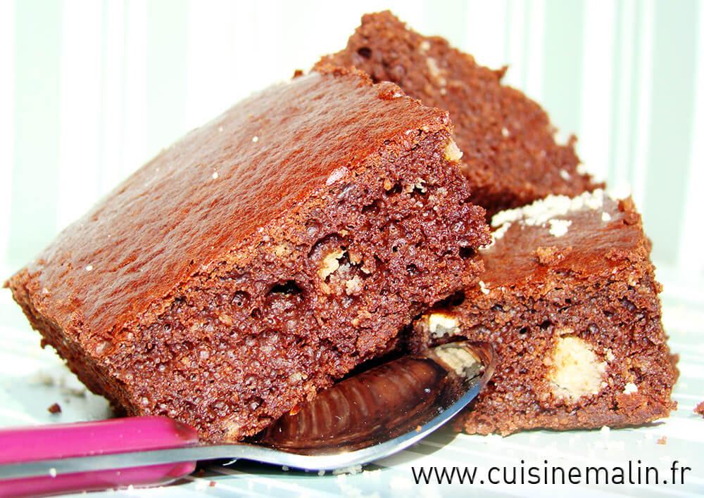 Brownie Allégé Malin - Cliquez pour Agrandir
