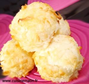Dessert Rocher noix de coco Malin par Cuisine Malin, un vrai de Paradis à chaque bouchée