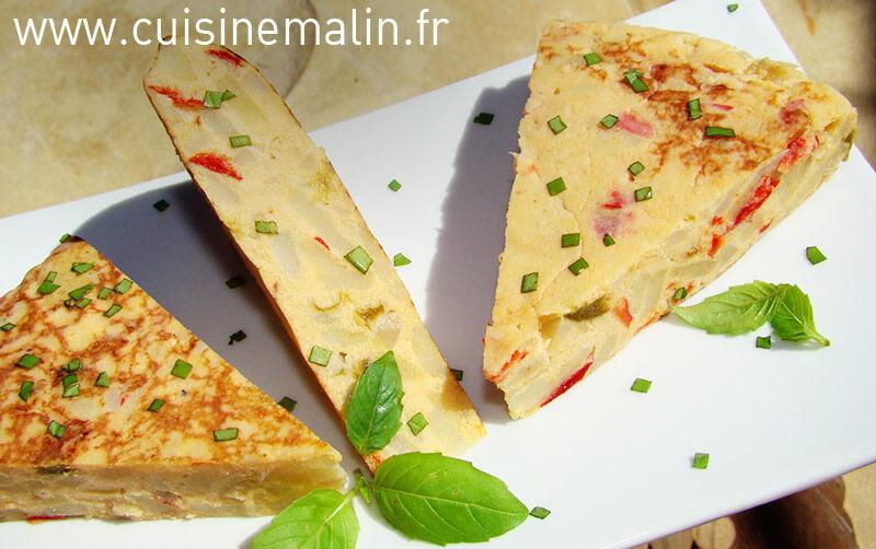 Tortilla Malin  -   Cliquez pour Agrandir