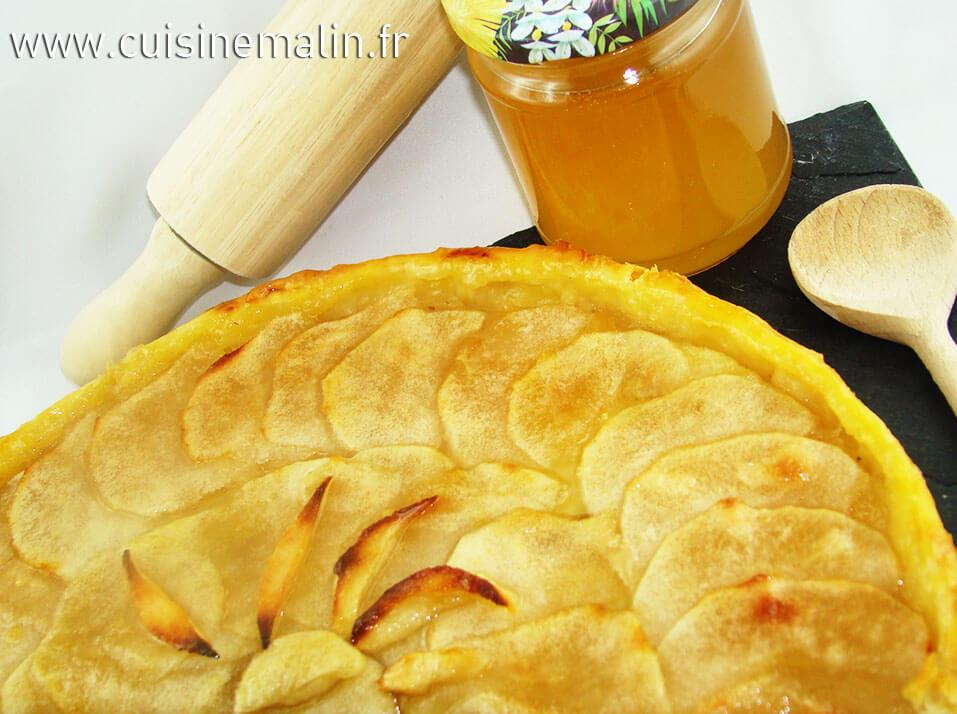 Tarte aux Pommes Malin -  Cliquez pour Agrandir