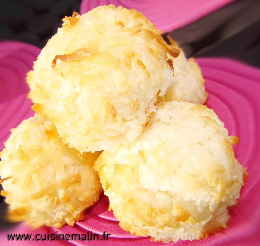 Dessert Rocher noix de coco Malin par Cuisine Malin, un vrai de Paradis à chaque bouchée, #noixdeCoco, #RocherCocoFacile, #dessertMalin, #CuisineMalin