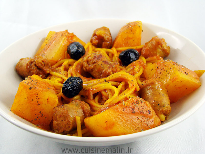Ragout Espagnol Guisado Guisao par Cuisine Malin