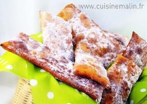Oreillettes Faciles par Cuisine Malin