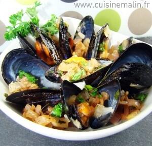 Moules Marinières Faciles par Cuisine Malin