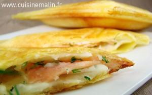 Tourte au saumon Légère & raffinée par Cuisine Malin