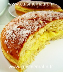 La recette de la Tropézienne Dessert par Cuisine Malin